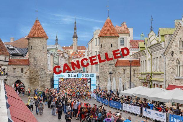 talllinn marathon 2020 cancelled